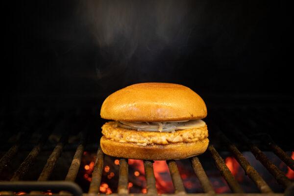 Zalm Burger